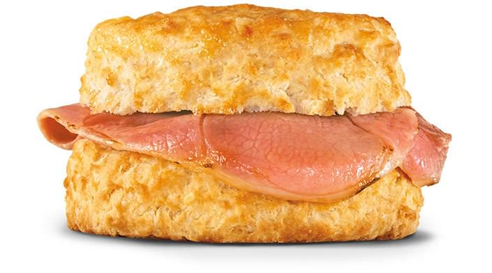 Hardee's Country Ham Biscuit Nutrition Facts