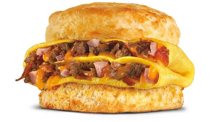Hardee's Loaded Omelet Biscuit Nutrition Facts