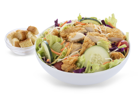 Bojangles Homestyle Chicken Tenders Salad Nutrition Facts