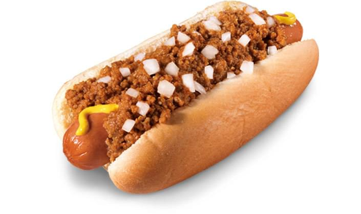 Hardee's Jumbo Chili Dog Nutrition Facts