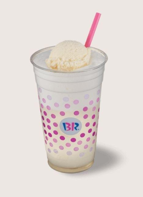 Baskin-Robbins Ice Cream Soda (with Vanilla Ice Cream) Nutrition Facts