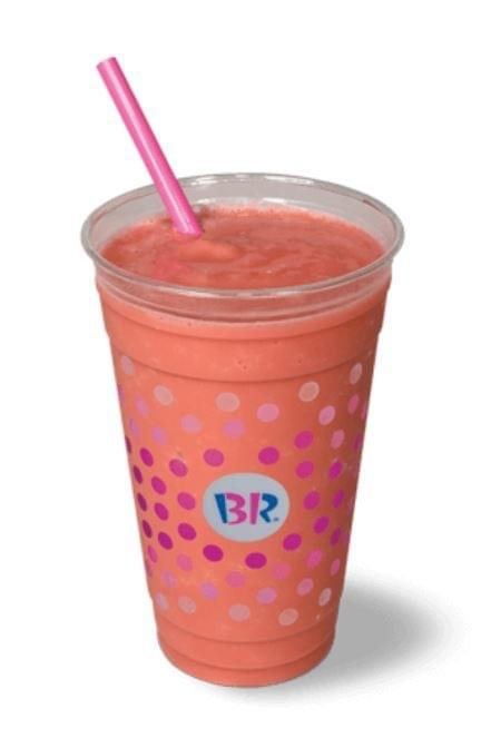 Baskin-Robbins Sprite Freeze (with Orange Sherbet) Nutrition Facts