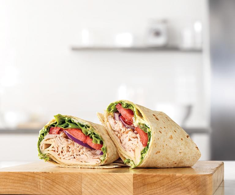 Arby's Turkey & Swiss Wrap Nutrition Facts