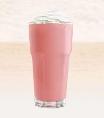 Burger King Strawberry Milk Shake Nutrition Facts