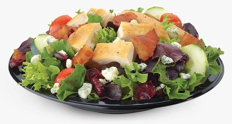 Culvers Cranberry Bacon Bleu Salad with Grilled Chicken Nutrition Facts