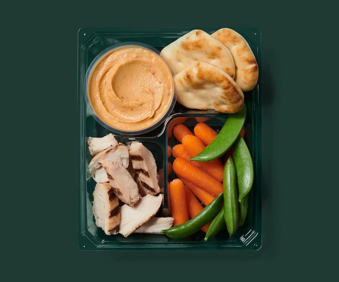 Starbucks Chicken & Hummus Protein Box Nutrition Facts
