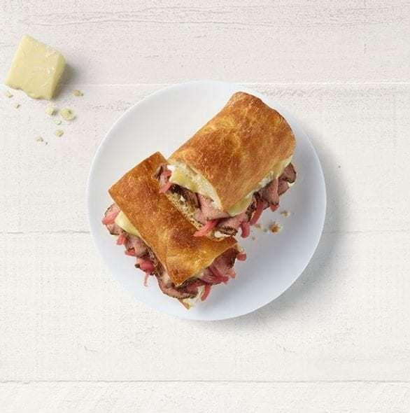 Panera Steak & White Cheddar Panini Nutrition Facts
