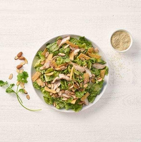 Panera Full Asian Sesame Chicken Salad Nutrition Facts