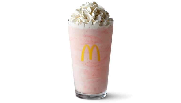 McDonald's Strawberry Shake Nutrition Facts