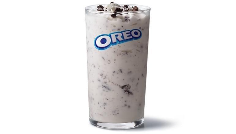 McDonald's Snack Size McFlurry w/ OREO Cookies Nutrition Facts
