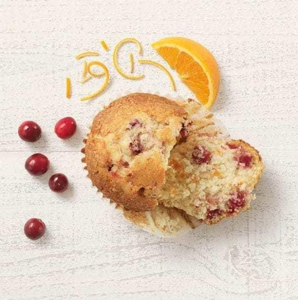 Panera Cranberry Orange Muffin Nutrition Facts