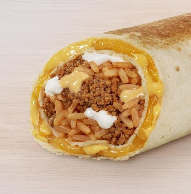 Taco Bell Steak Quesarito Nutrition Facts