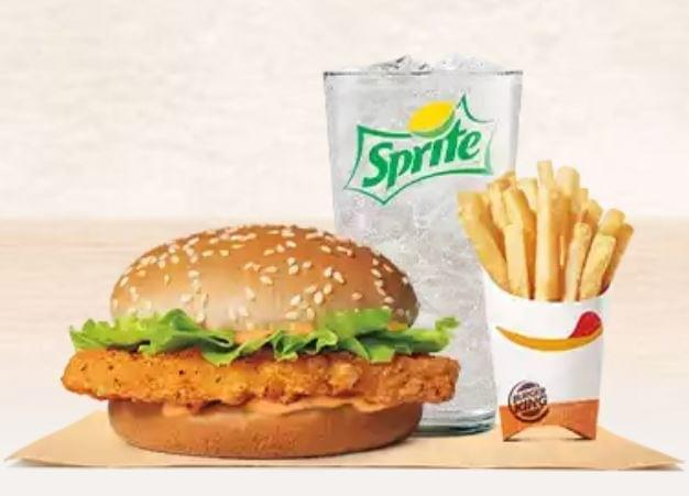 Burger King Spicy Crispy Chicken Jr. Nutrition Facts