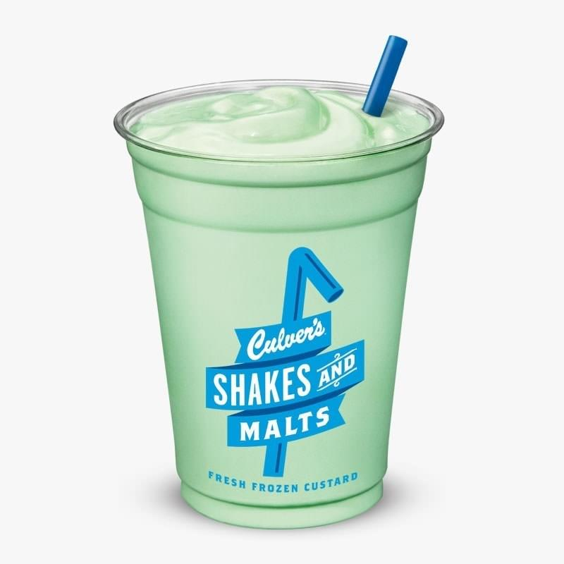 Culvers Mint Shake Nutrition Facts