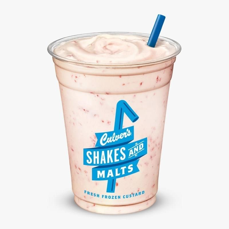 Culvers Raspberry Shake Nutrition Facts
