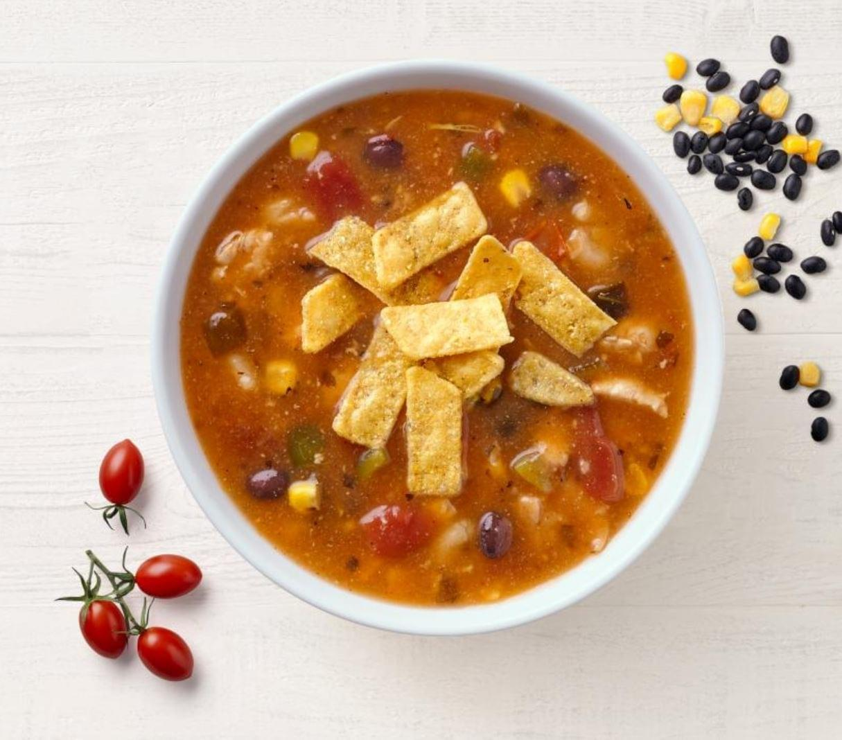 Panera Southwest Chicken Tortilla Soup Nutrition Facts