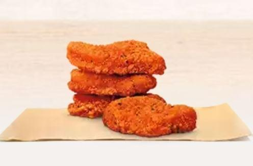 Burger King Spicy Chicken Nuggets Nutrition Facts