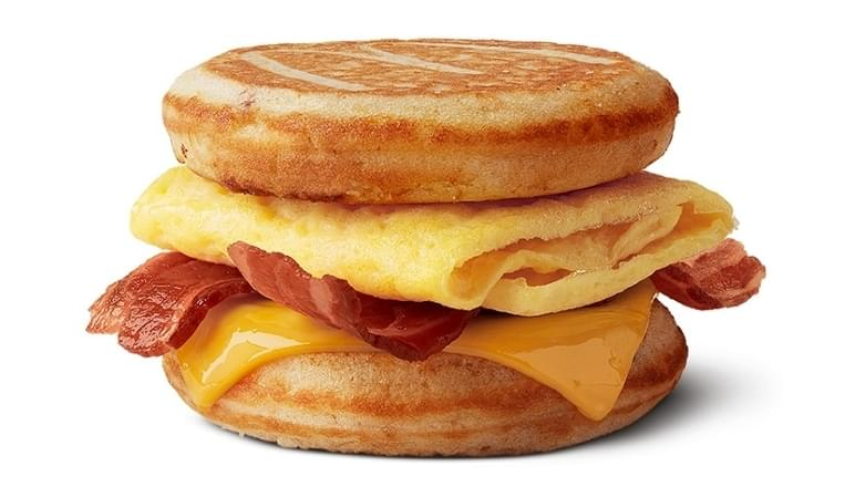 McDonald's Bacon, Egg & Cheese McGriddles Nutrition Facts