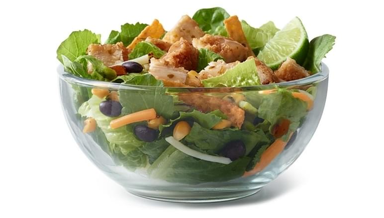 McDonald's Premium Southwest Salad Nutrition Facts
