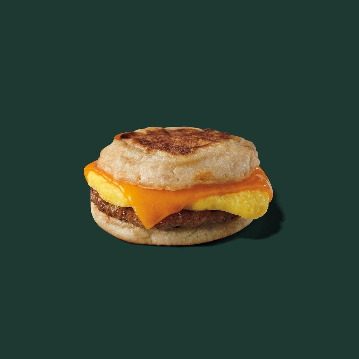 Starbucks Sausage, Cheddar & Egg Breakfast Sandwich Nutrition Facts