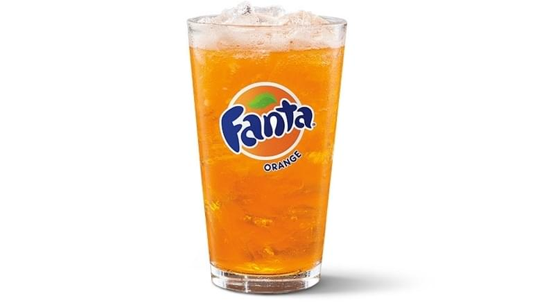 McDonald's Medium Fanta Orange Nutrition Facts