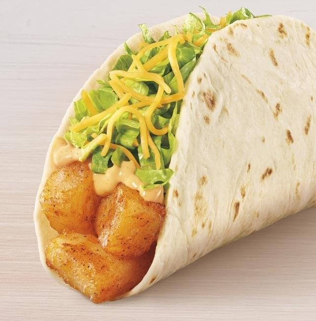 Taco Bell Spicy Potato Soft Taco Nutrition Facts