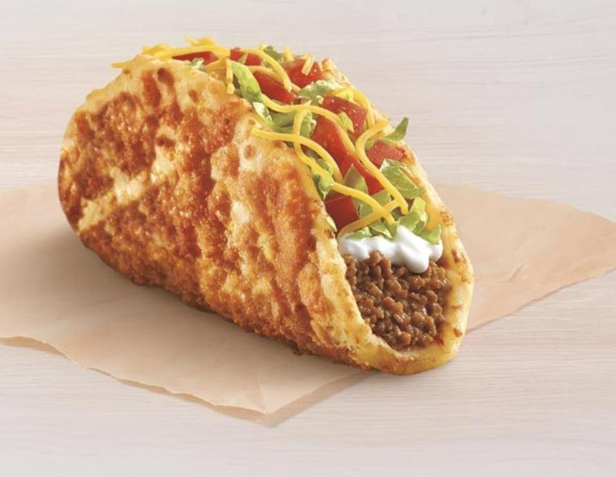 Taco Bell Toasted Cheddar Chalupa Nutrition Facts