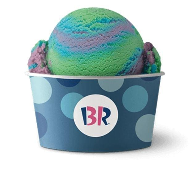 Baskin-Robbins Wild 'n Reckless Sherbet Nutrition Facts