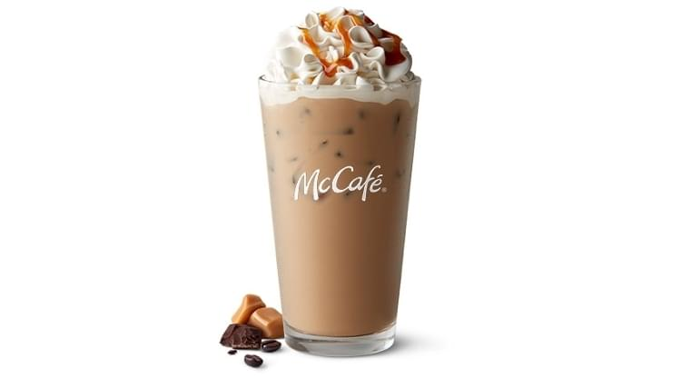 McDonald's Iced Caramel Mocha Nutrition Facts