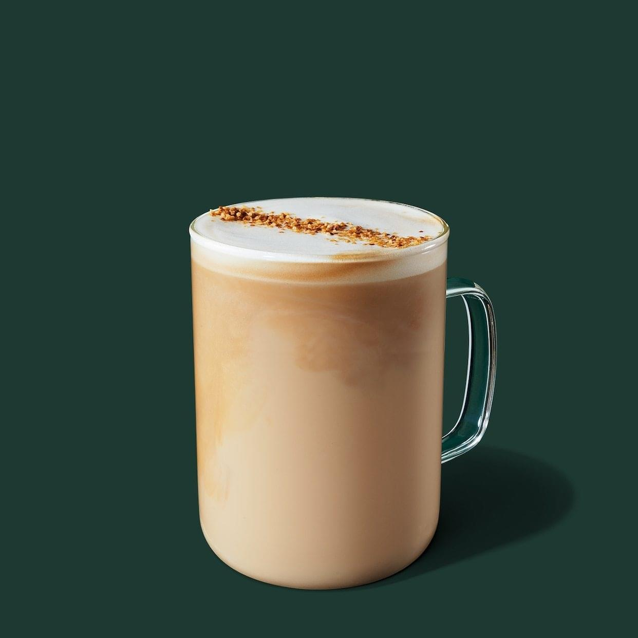 Starbucks Coconut Milk Latte Nutrition Facts