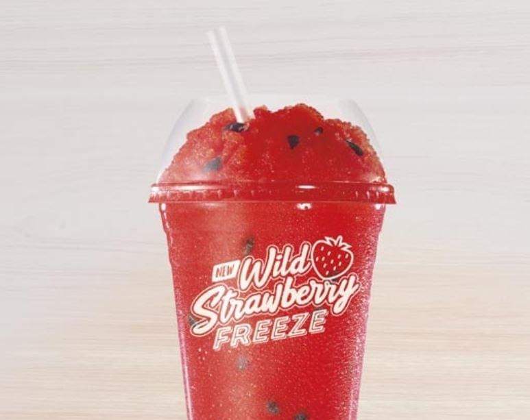 Taco Bell Wild Strawberry Candy Freeze Nutrition Facts