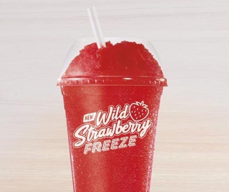Taco Bell Wild Strawberry Freeze Nutrition Facts
