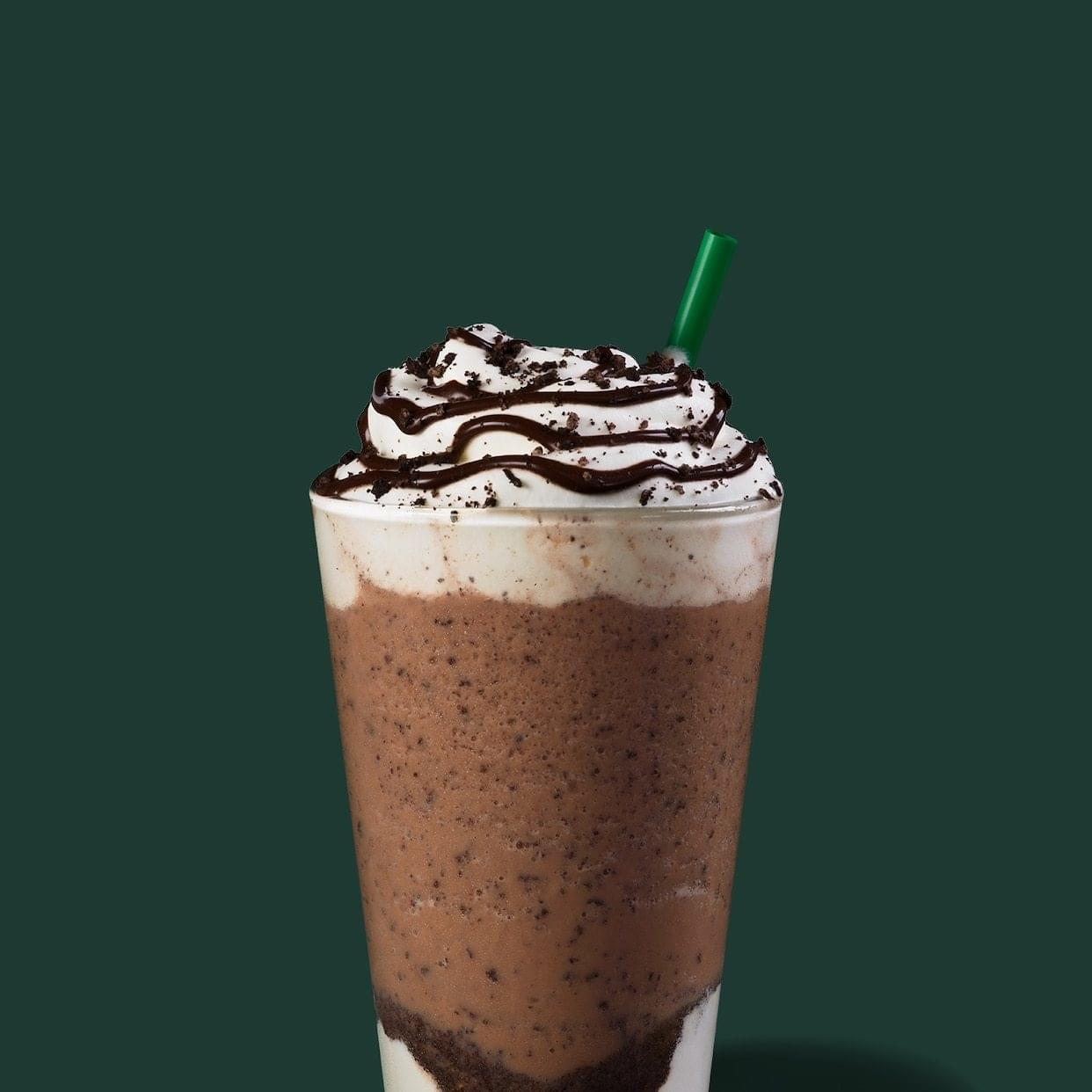 Starbucks Chocolate Cookie Crumble Creme Frappuccino Nutrition Facts