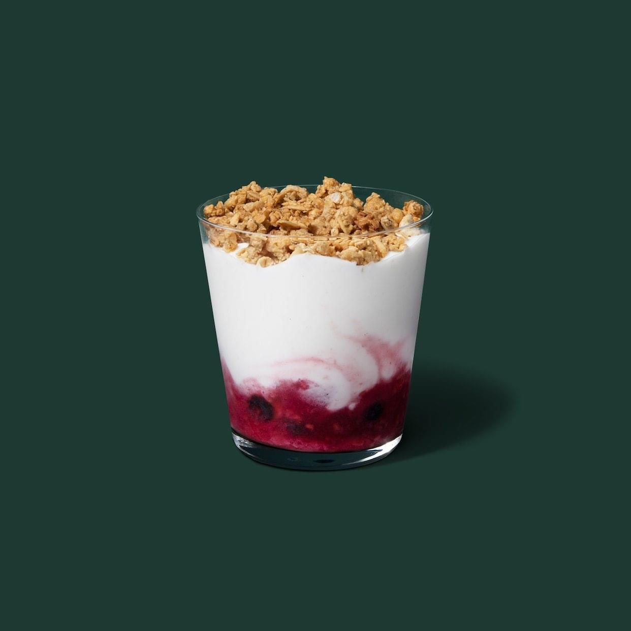 Starbucks Berry Trio Parfait Nutrition Facts
