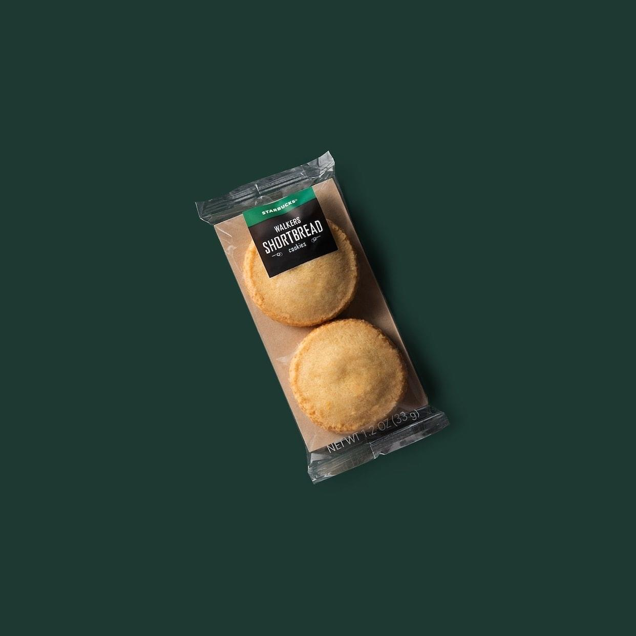 Starbucks Shortbread Cookies Nutrition Facts