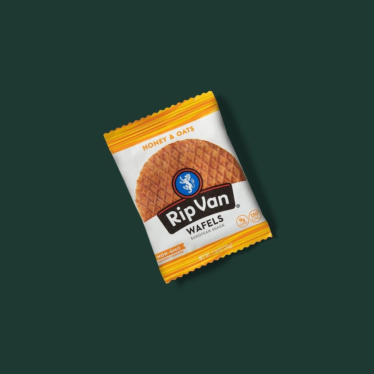 Starbucks Rip van Wafels Honey & Oats Nutrition Facts