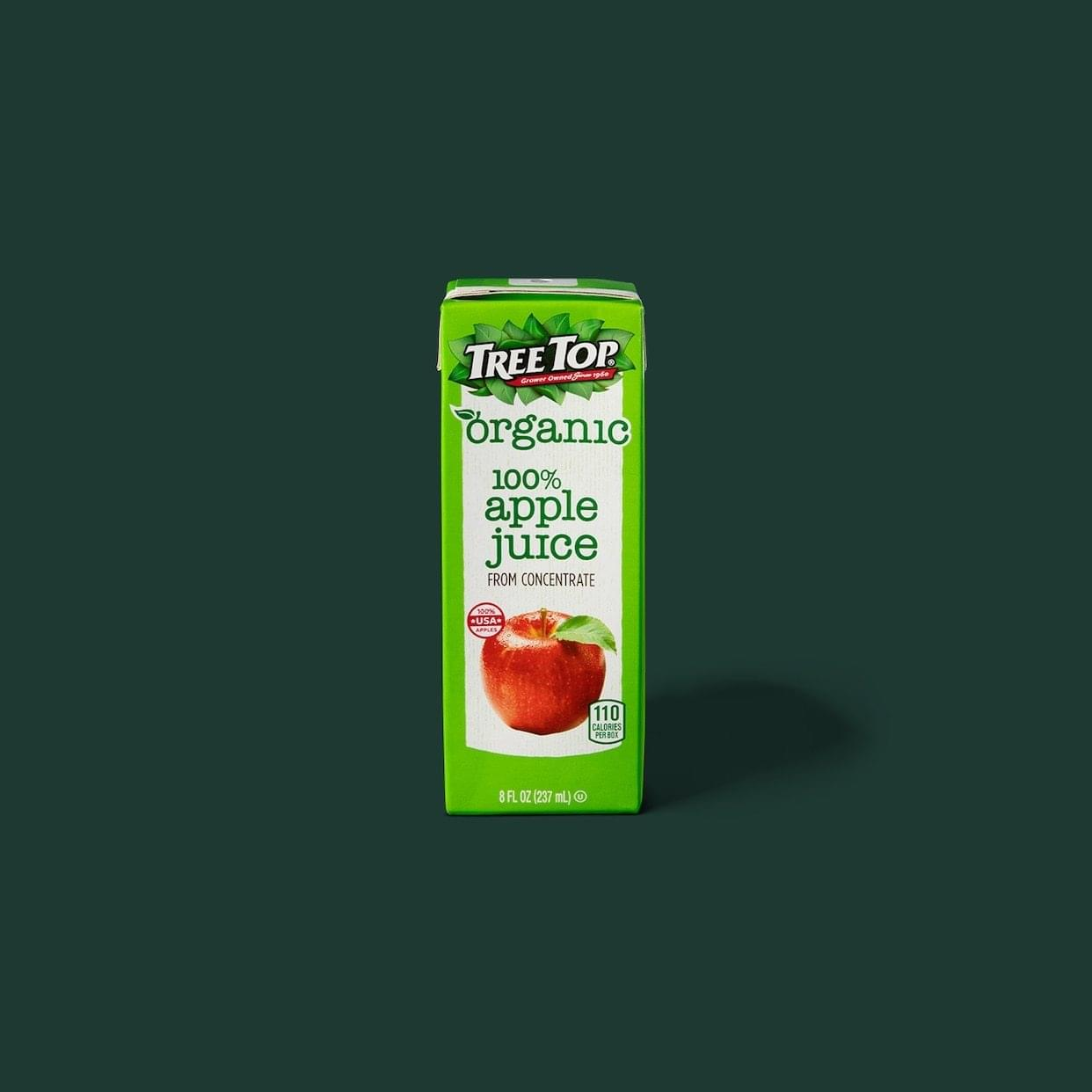 Starbucks Apple Juice Box Nutrition Facts