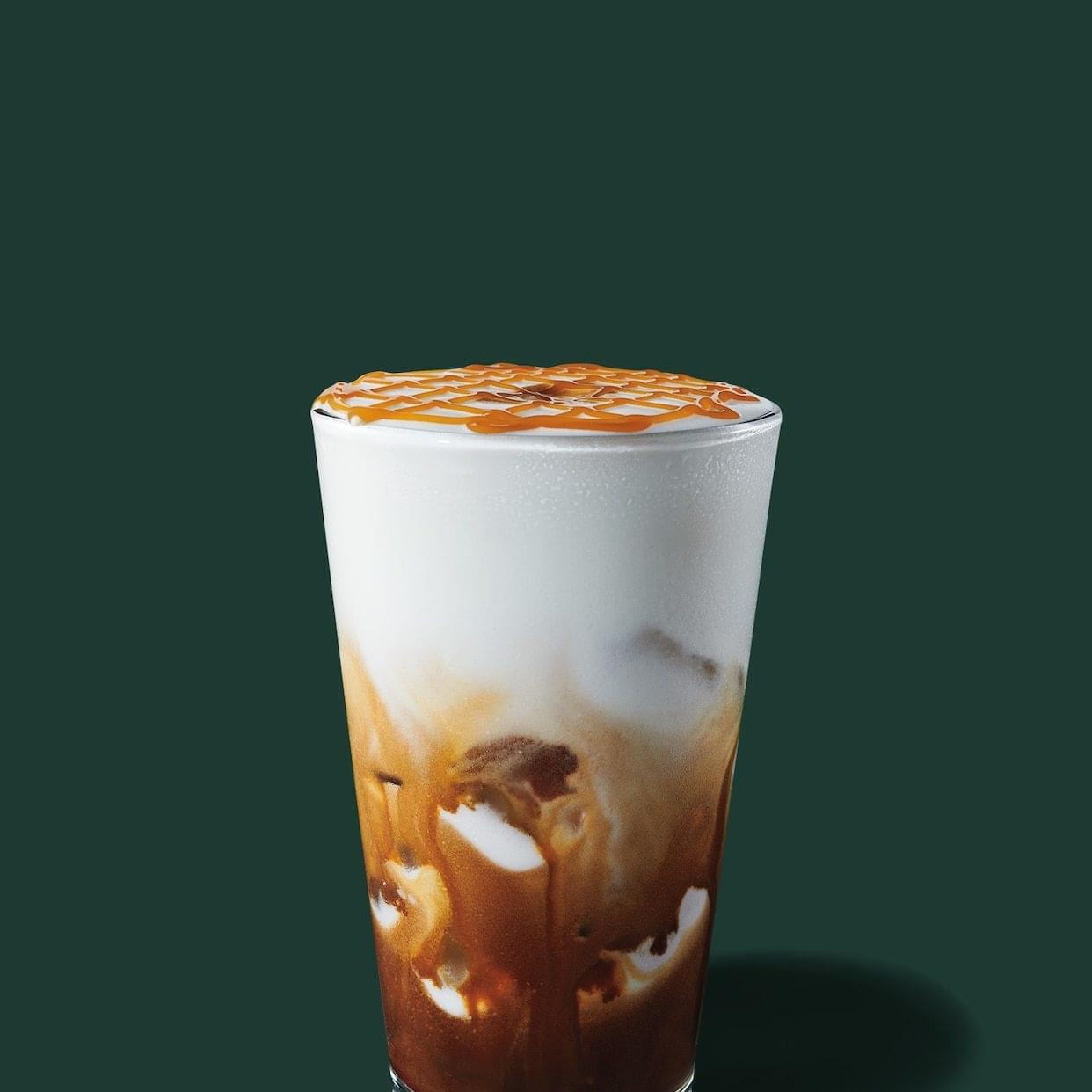 Starbucks Iced Caramel Cloud Macchiato Nutrition Facts