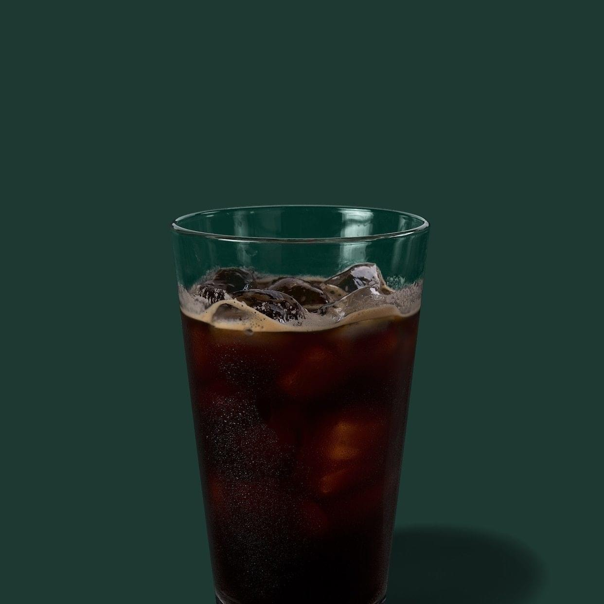 Starbucks Iced Espresso Nutrition Facts