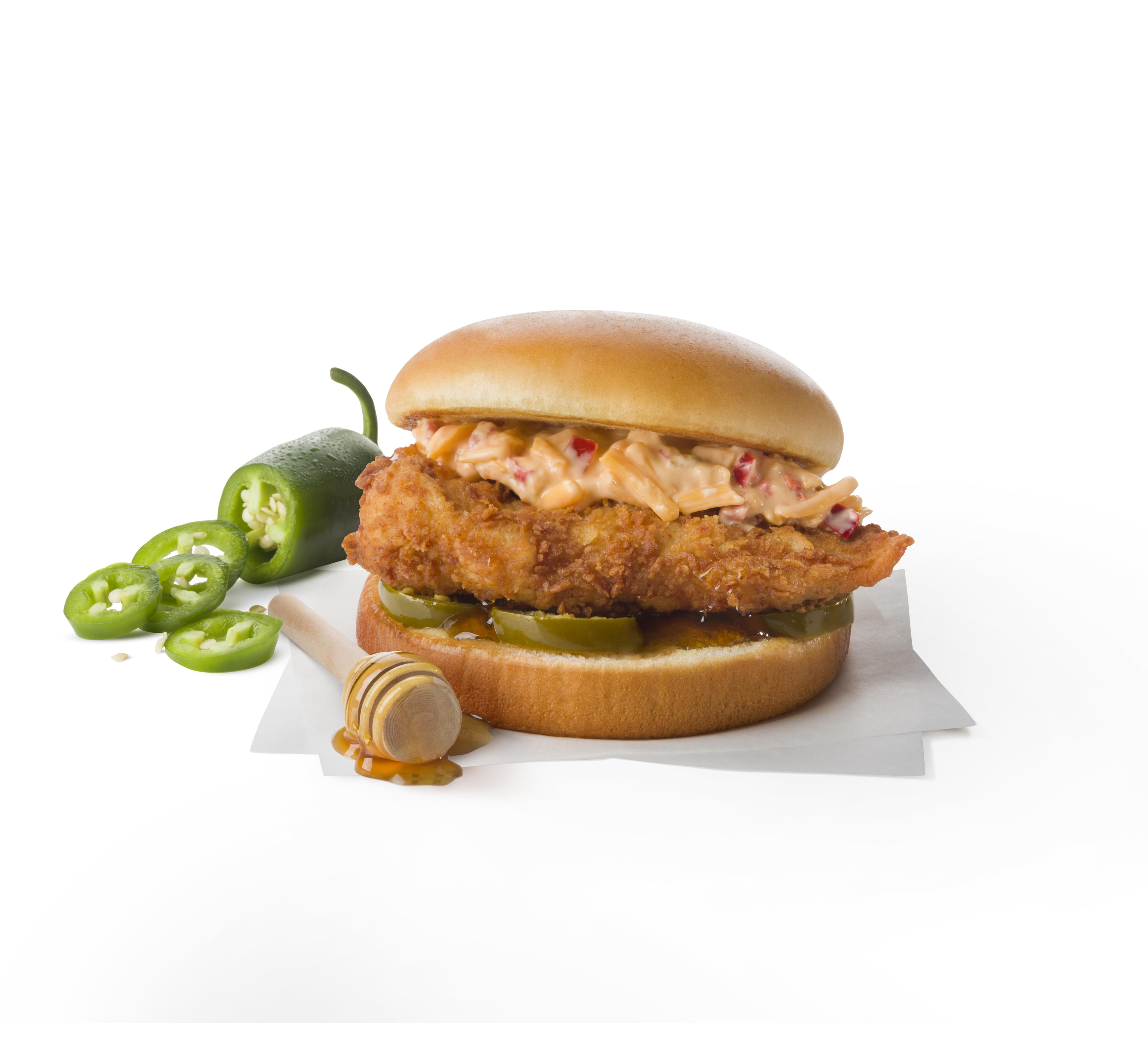 Chick-fil-A Honey Pepper Pimento Chicken Sandwich Nutrition Facts