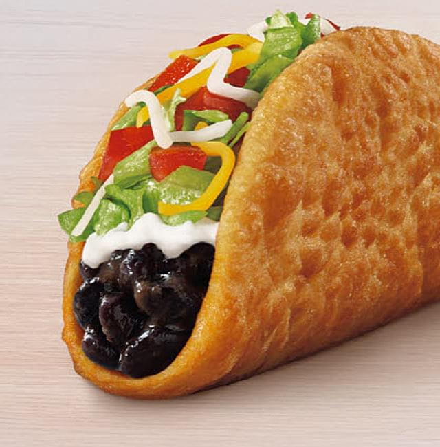 Taco Bell Black Bean Chalupa Nutrition Facts