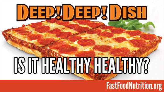 Little Caesars Deep!Deep! Dish Pizza Nutrition