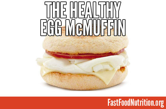 McDonald's Egg White Delight McMuffin Nutrition