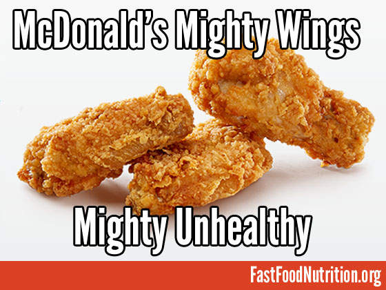 McDonald's Mighty Wings Nutrition Facts
