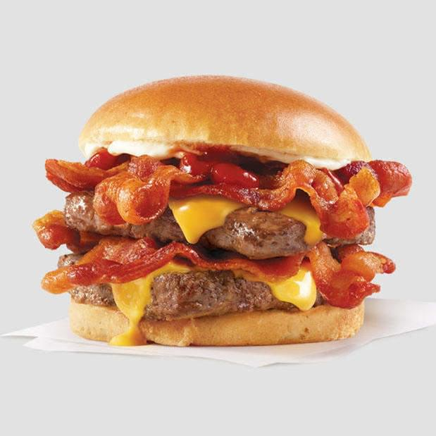 Wendy's Offering Free Baconators & Delivery through DoorDash