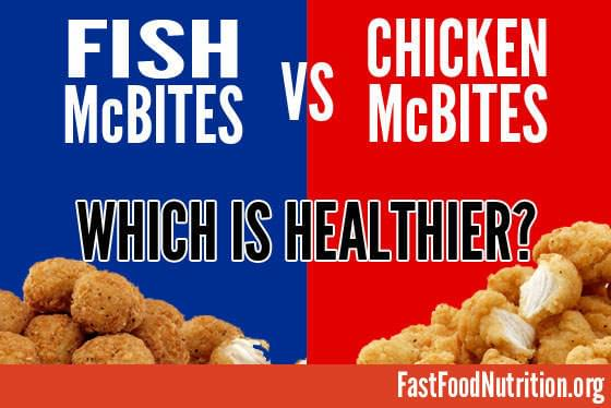 Fish McBites: Are they healthy?
