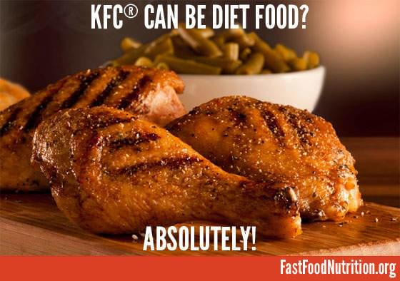 Eat KFC and Keep Your Diet