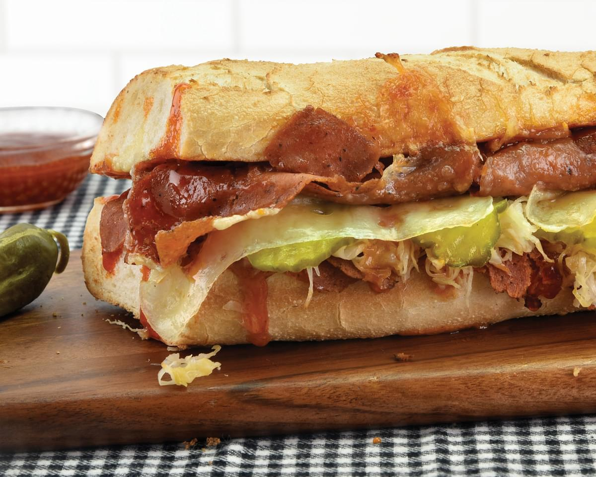 Quiznos to Test Plant-Based Corned Beef Sandwich