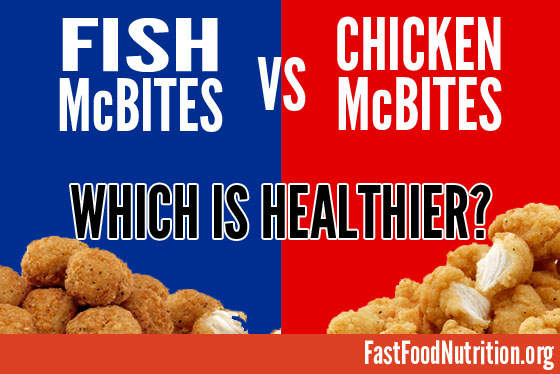 fast food nutrition.org Fish McBites: Are they healthy?