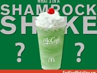What's in a McDonald's Shamrock Shake?